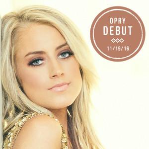Brooke Eden Opry Debut 11-19-16