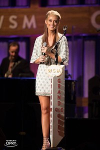 BROOKE EDEN MAKES GRAND OLE OPRY DEBUT ON HISTORIC RYMAN AUDITORIUM STAGE 11-19-16